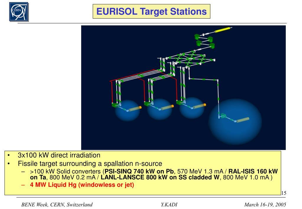 EURISOL Target Stations