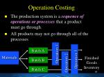 operation costing1
