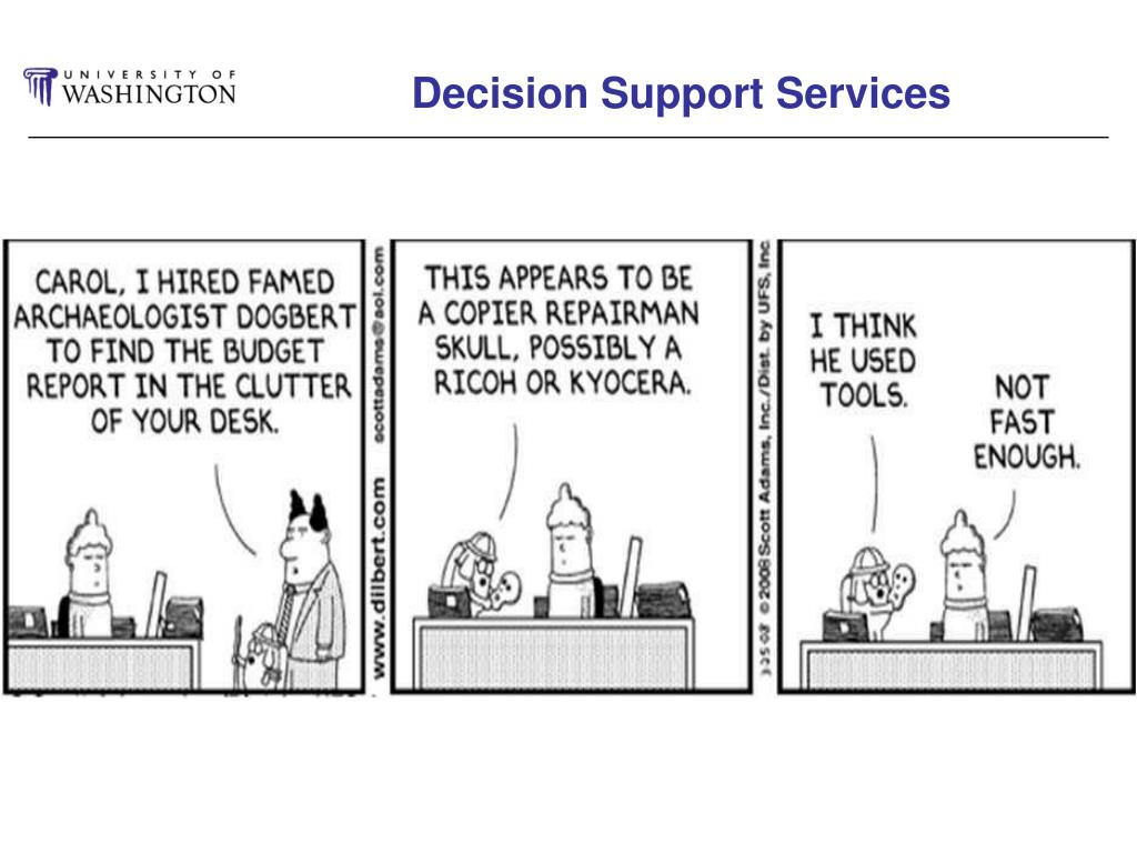 Decision Support Services