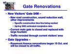 gate renovations