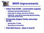 mwr improvements