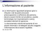 l informazione al paziente1