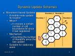 dynamic update schemes1