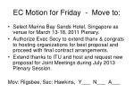 ec motion for friday move to