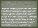 re australian federation of construction contractors ex parte billing 1986 68 alr 416 at 420