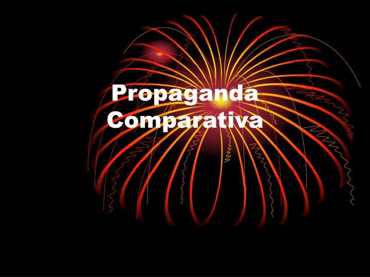 Propaganda comparativa