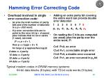hamming error correcting code1