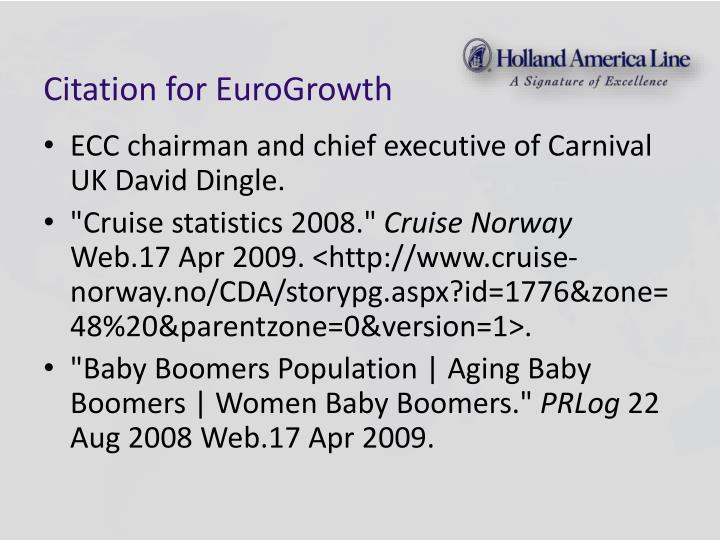 Citation for EuroGrowth