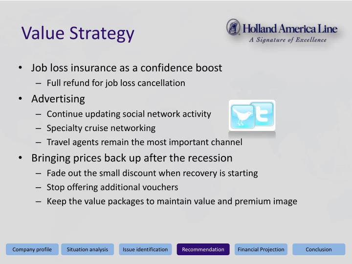 Value Strategy