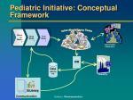 pediatric initiative conceptual framework
