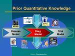 prior quantitative knowledge1