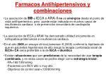 farmacos antihipertensivos y combinaciones1