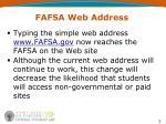 fafsa web address
