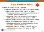 new system edits1