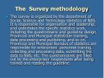 the survey methodology2