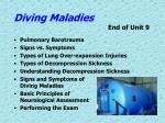 diving maladies end of unit 9