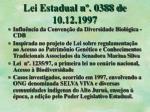 lei estadual n 0388 de 10 12 1997