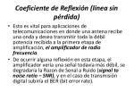 coeficiente de reflexi n l nea sin p rdida3