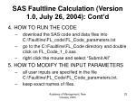 sas faultline calculation version 1 0 july 26 2004 cont d