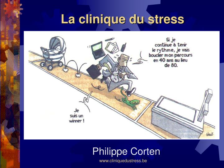 la clinique du stress n.