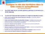 souligner le r le des territoires dans la lutte contre le r chauffement art 7 de la loi grenelle 1