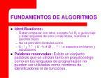 fundamentos de algoritmos16