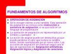fundamentos de algoritmos17