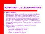 fundamentos de algoritmos18