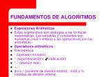 fundamentos de algoritmos19