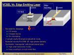 vcsel vs edge emitting laser