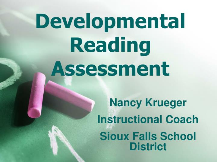 developmental reading assessment n.