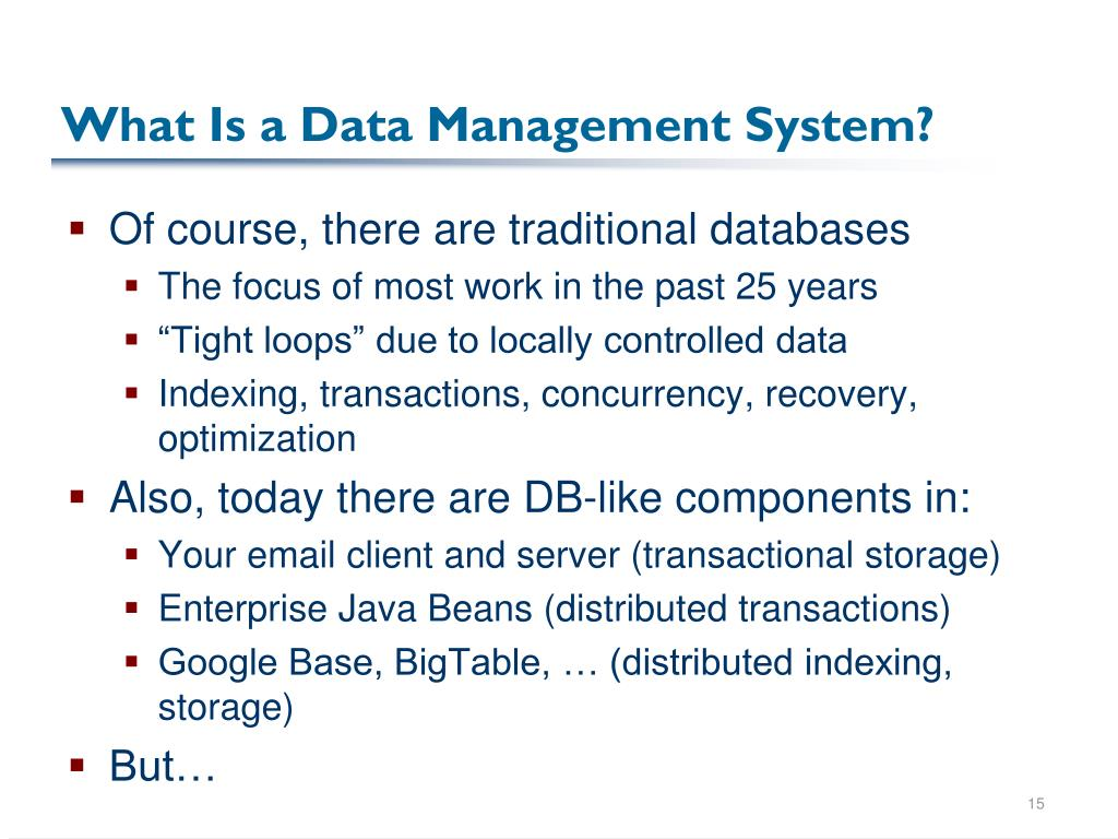 What Is a Data Management System?