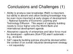 conclusions and challenges 1