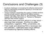 conclusions and challenges 3