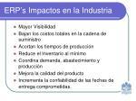 erp s impactos en la industria