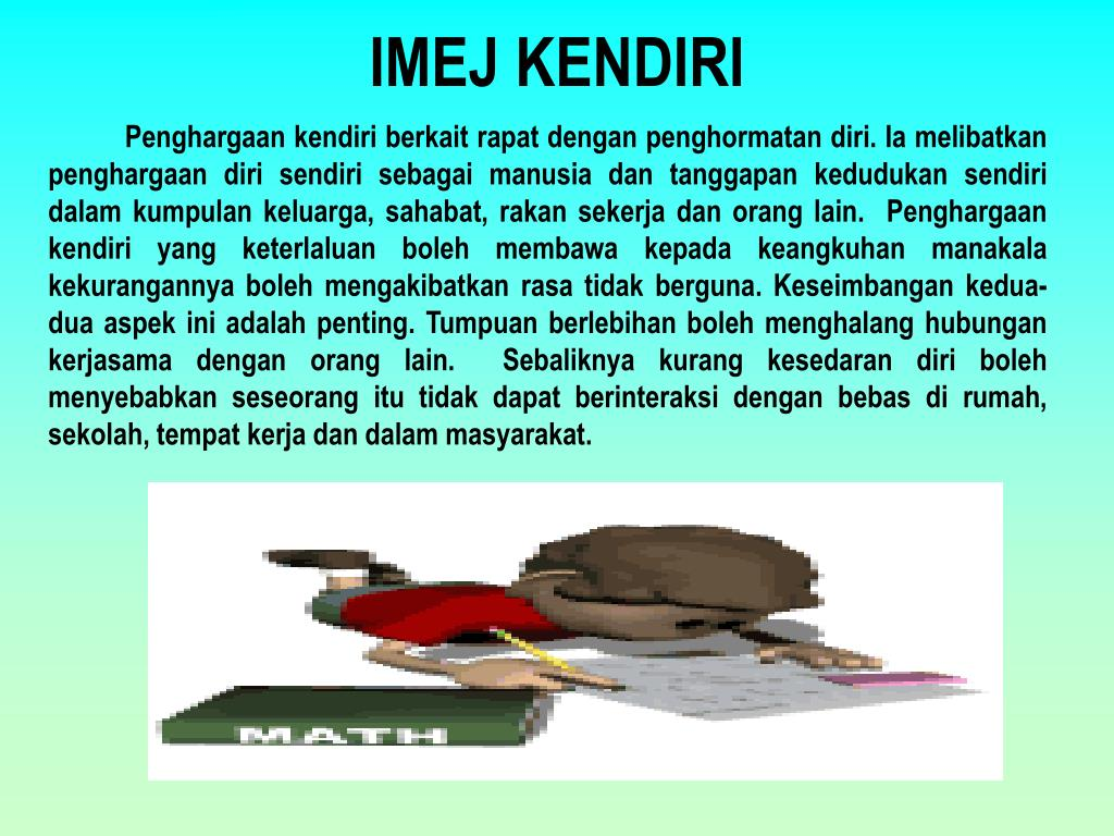 PPT - IMEJ KENDIRI PowerPoint Presentation - ID:955300