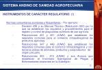 sistema andino de sanidad agropecuaria1