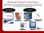 advanced therapy for heart failure