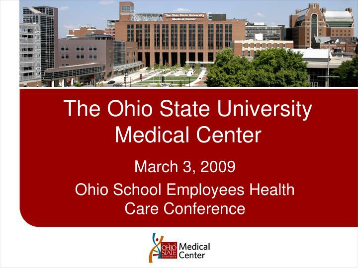 the ohio state university medical center n.