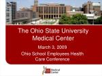 the ohio state university medical center1