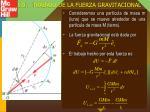 5 9 trabajo de la fuerza gravitacional