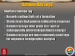 gamma ray logs