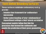 tools define bounding surfaces