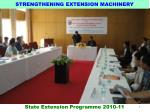 strengthening extension machinery