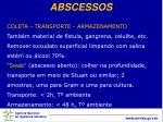 abscessos
