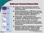 multi scale chemical science data