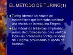 el metodo de turing 1