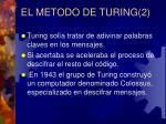 el metodo de turing 2
