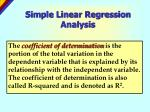 simple linear regression analysis16