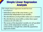 simple linear regression analysis2